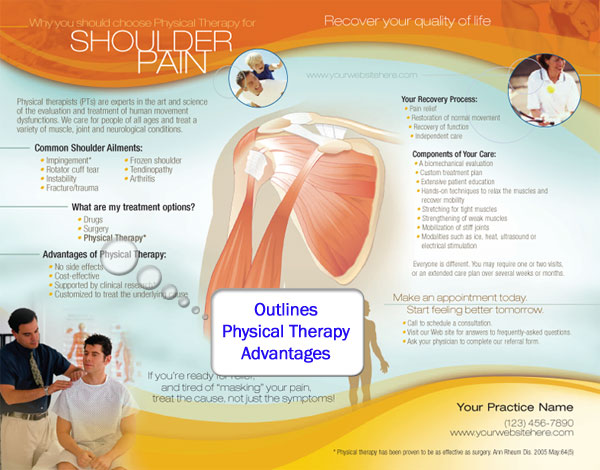 physical therapy brochures for private practices